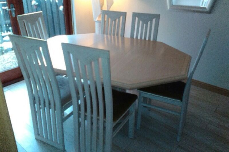 Stunning Delorme Dining Table