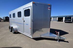 2016 Frontier Aluminum Trailers Strider Series 3 Horse