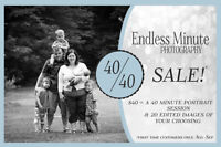 40 for 40 Photography Sale