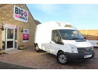2012 FORD TRANSIT 350 TDCI 140 LWB HIGH ROOF FRIDGE VAN INSULATED/REFRIGERATED D