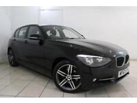 2014 63 BMW 1 SERIES 1.6 116I SPORT 5DR 135 BHP