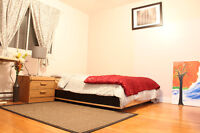 Furnished rooms- Metro Cote-Vertu in St-Laurent-short/long term