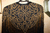Ladies Silk Beaded Jacket -