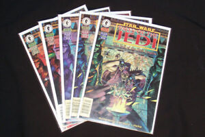 1997 Star Wars Tales of the Jedi: Fall of the Sith Empire #1-5