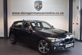 2014 64 BMW 1 SERIES 2.0 118D SPORT 5DR 141 BHP DIESEL