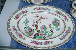 1945 John Maddock & Sons CHINA Indian Tree design - 32 items Windsor Region Ontario image 3