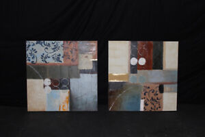 Modern Wall Hangings (Bouclair, etc.) and Modern Mirrors