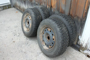Tires on Ford rims