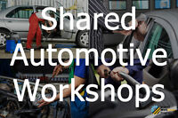 Automotive Shared Workshops(Detailing)-Rent space in mississauga