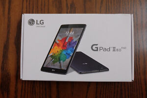 """Brand New in Factory Seal LG G Pad III 8"""" FHD wifi + Cellular"""