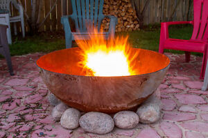 Solid Steel FireBowls - Lifetime Warranty + Custom Design