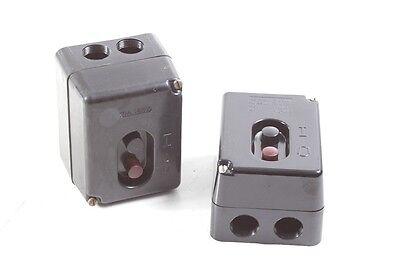 Old Bakelite Button Industry Workshop Hall Loft Switch Pressure Switch
