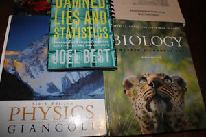 Various College Textbooks-$20 for all 5