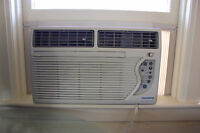 Window air conditioner trade for chainsaw