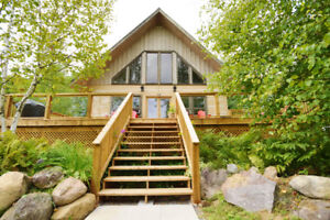 Beautifully unique Log Home on Wollaston Lake for just $599,000
