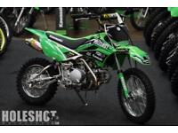Kawasaki KLX 110 HMX Edition PC pipe Factory Pitbike Minibike Motocross bike