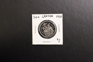 Canada 1968 50 Cent Coin