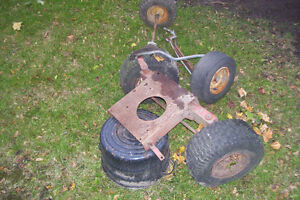 LAWN TRACTOR FRONT AXEL & PARTS London Ontario image 2