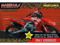 Honda Crf 250 2020 Geico Special Edition-Low Rate 6.9% 3 Year finance
