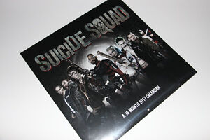 SUICIDE SQUAD-COLLECTIBLE-2017 CALENDAR ALBUM (NEUF/NEW) C022