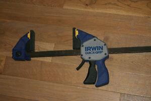 Irwin 60 inch quick grip clamps