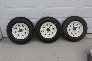 5.30 X 12 TRAILER TIRES and RIMS