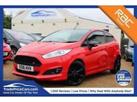 2016 16 FORD FIESTA 1.0 ZETEC S RED EDITION 3D 139 BHP