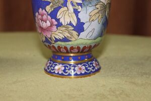 Chinese Cloisonne Vases Pair Kingston Kingston Area image 5