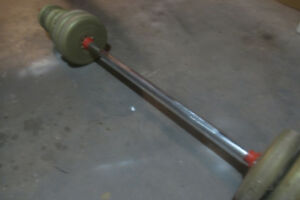 Weights and Barbell