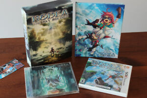Nintendo 3DS Rodea The Sky Soldier Limited Edition