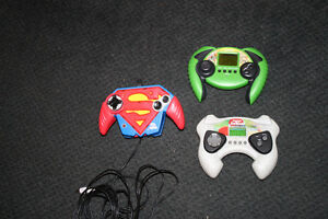 3x Electronic handheld and TV plug n play video games