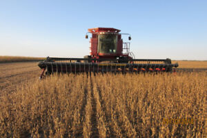 30 ft. CASE-IH 1020 FLEX with CWS AIR REEL
