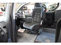 Berlingo internal Transfer from wheelchair to drive car Auto Disabled driver