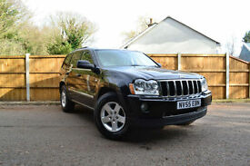 2005 Jeep Grand Cherokee 3.0CRD Diesel V6 auto Limited £146 A Month £0 Deposit