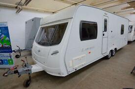 2007 Lunar Lexon EW 4 Berth Touring Caravan with Fixed Bed