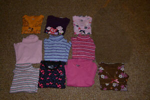 GIRLS SIZE 6-6x LONG SLEEVE SHIRTS