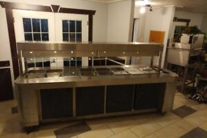 Table chaude en stainless