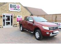2015 FORD RANGER TDCI 150 LIMITED 4X4 DOUBLE CAB PICK UP DIESEL