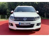 2014 Volkswagen Tiguan 2.0 TDi BlueMotion Tech R-Line 5dr DSG [NAV] Auto SUV Die