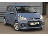 2016 Hyundai i10 1.0 SE Petrol blue Manual
