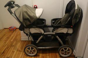 Poussette double - Peg Perego Duette- Double stroller