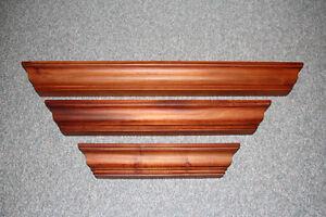 Wood Floating Wall Shelves