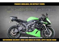2010 10 KAWASAKI ZX-6R RAF 600CC 0% DEPOSIT FINANCE AVAILABLE