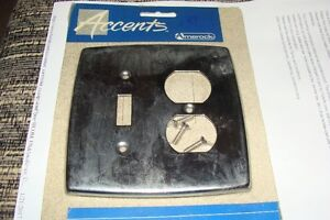 5 - stainless light switch covers