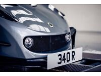340 R number plate