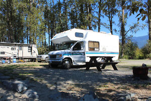 1996 Ford 350 Dual Fuel Class C Motorhome