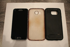 Samsung Galaxy S6 64GB Black Sapphire + Accessories West Island Greater Montréal image 3