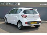 2017 Hyundai i10 1.0 SE Petrol white Manual