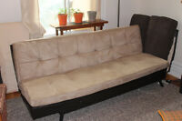 Sofabed / canape-lit for sale (3 positions: couch, bed, chaise)