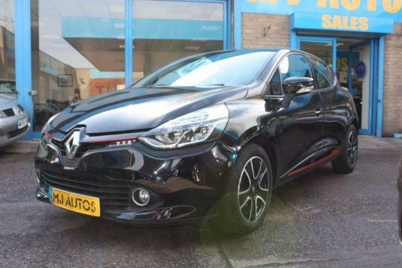 2014 63 RENAULT CLIO 1.2 DYNAMIQUE MEDIANAV 5 DOOR BLACK
